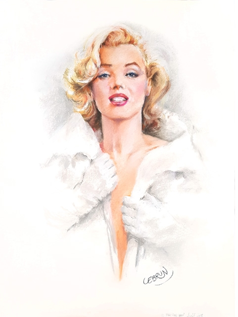 Marilyn Monroe by Lebrun
